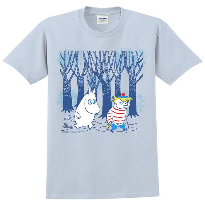 (複製)YOSHI850|Moomin嚕嚕米正版授權:T恤【黃昏】成人短袖 T-shirt