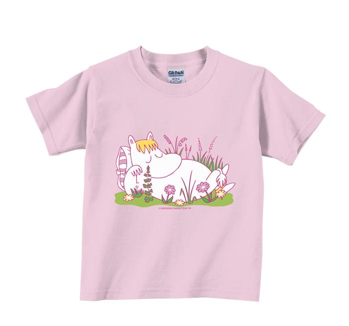 (複製)YOSHI850|Moomin嚕嚕米正版授權:T恤【愛畫畫的Moomin】兒童短袖 T-shirt
