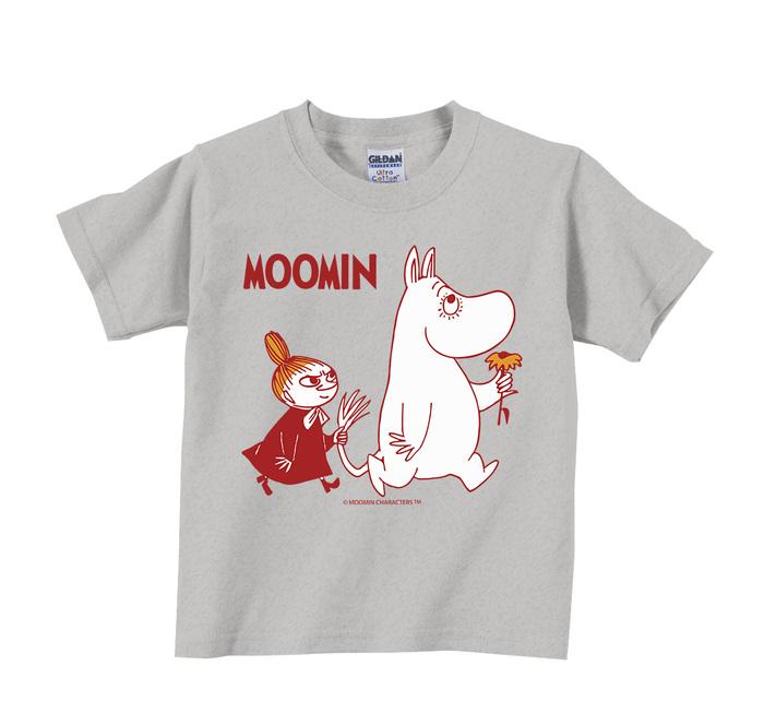 (複製)YOSHI850|Moomin嚕嚕米正版授權:T恤【雨中散步】兒童短袖 T-shirt