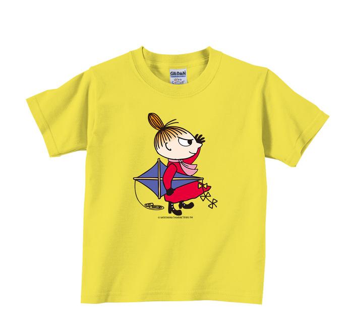 (複製)YOSHI850 Moomin嚕嚕米正版授權:T恤【雨中散步】兒童短袖 T-shirt