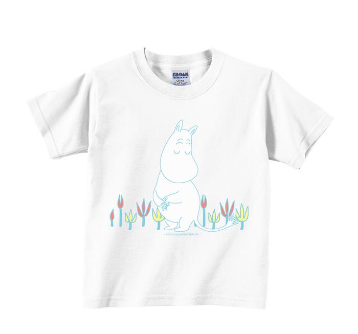 (複製)YOSHI850|Moomin嚕嚕米正版授權:T恤【羅曼史】兒童短袖 T-shirt