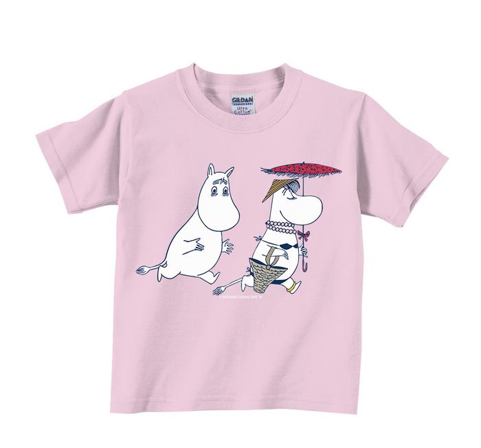 (複製)YOSHI850|Moomin嚕嚕米正版授權:T恤【Moomin花園】兒童短袖 T-shirt