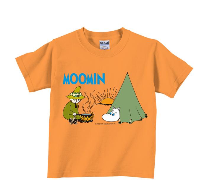 (複製)YOSHI850|Moomin嚕嚕米正版授權:T恤【跟屁蟲】兒童短袖 T-shirt