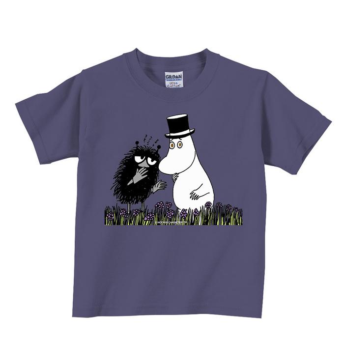 YOSHI850|Moomin嚕嚕米正版授權:T恤【阿丁悄悄話】兒童短袖 T-shirt