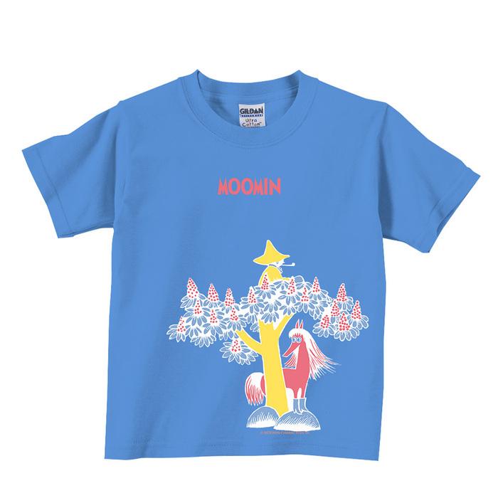 (複製)YOSHI850|Moomin嚕嚕米正版授權:T恤【黑暗中的燈火】兒童短袖 T-shirt