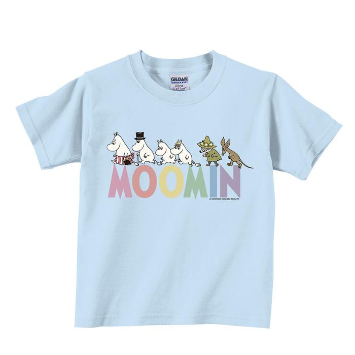 (複製)YOSHI850|Moomin嚕嚕米正版授權:T恤【阿丁】兒童短袖 T-shirt