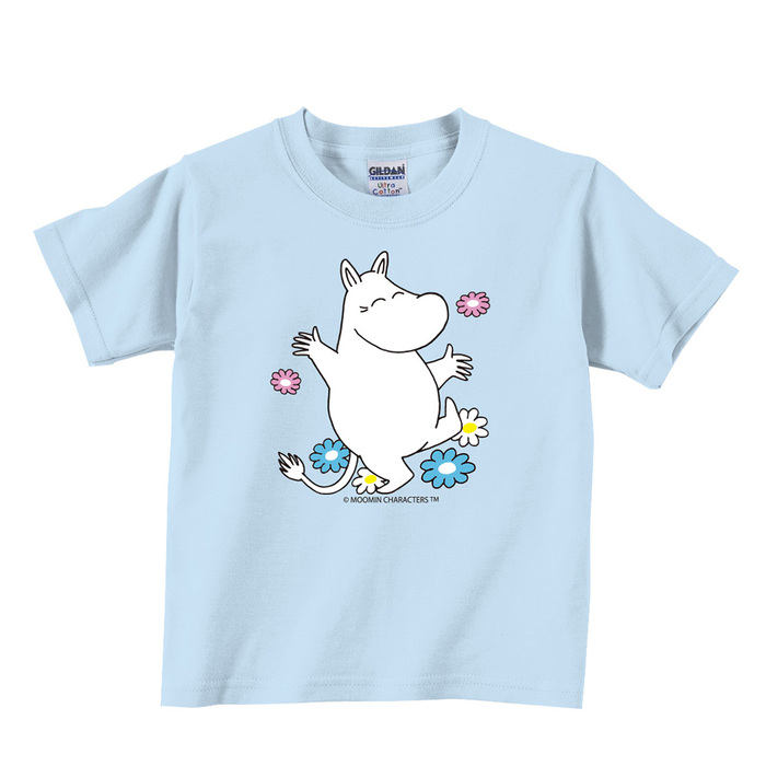 (複製)YOSHI850|Moomin嚕嚕米正版授權:T恤【Let's Go】兒童短袖 T-shirt