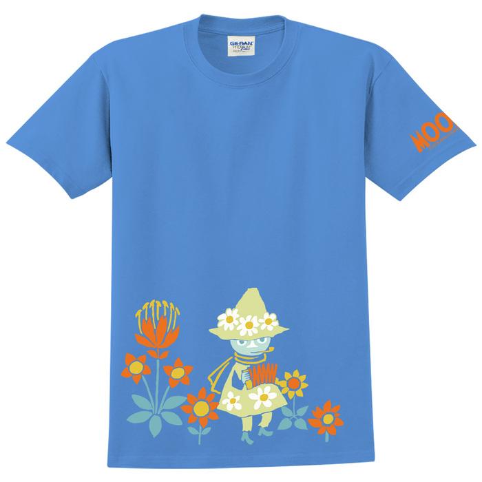 (複製)YOSHI850|Moomin嚕嚕米正版授權:T恤【歡樂隊伍】成人短袖 T-shirt