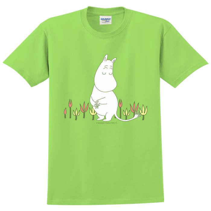 YOSHI850|Moomin嚕嚕米正版授權:T恤【害羞的Moomin】成人短袖 T-shirt