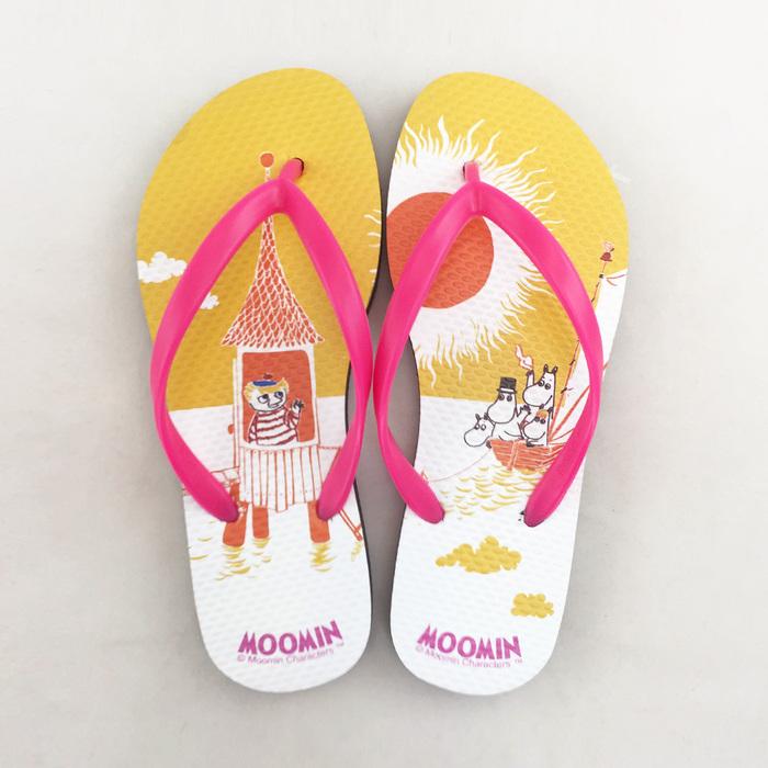 (複製)YOSHI850|Moomin嚕嚕米正版授權:夾腳拖鞋【01】女/男