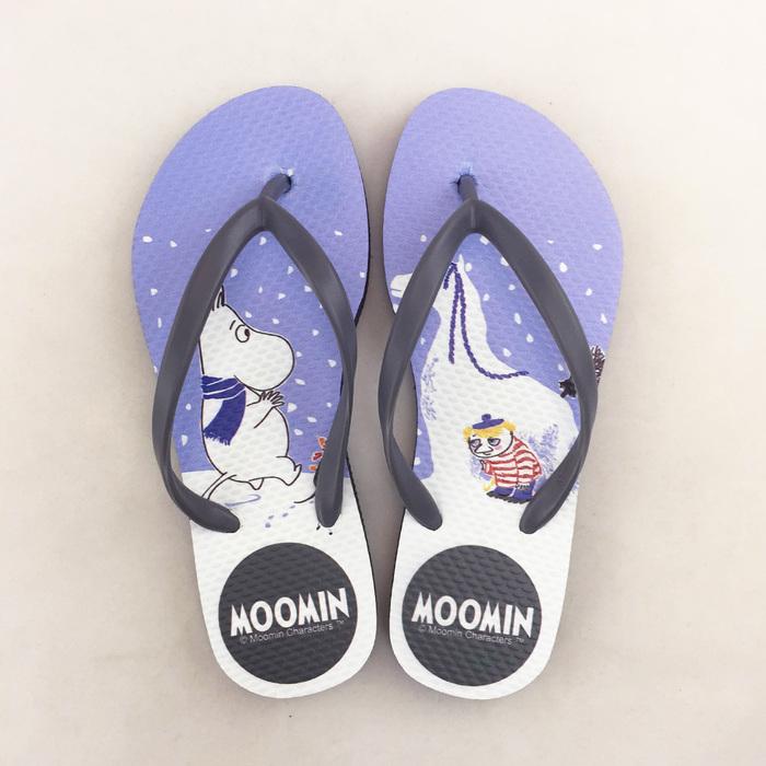 (複製)YOSHI850|Moomin嚕嚕米正版授權:夾腳拖鞋【02】女/男