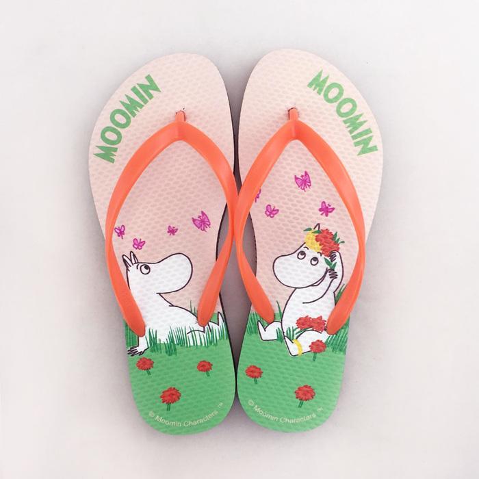 (複製)YOSHI850|Moomin嚕嚕米正版授權:夾腳拖鞋【05】女/男