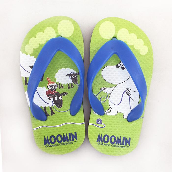 YOSHI850|Moomin嚕嚕米正版授權:夾腳拖鞋【09】 兒童