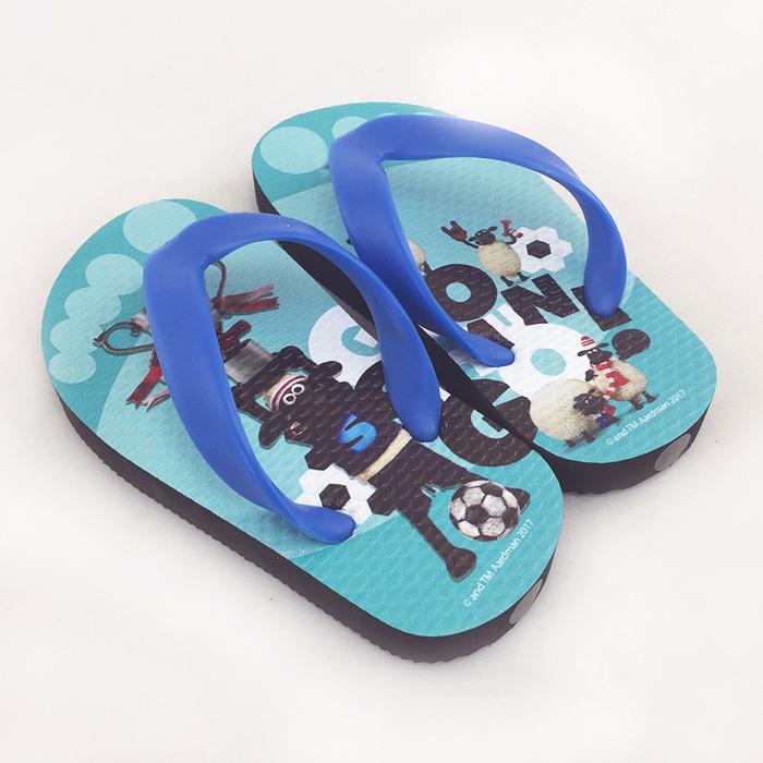 (複製)YOSHI850 笑笑羊正版授權:夾腳拖鞋【2】 兒童