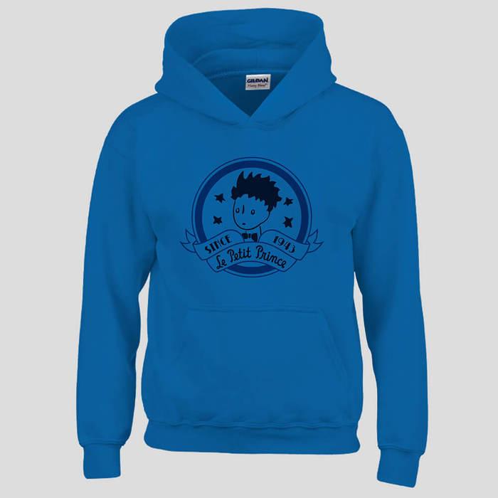 (複製)YOSHI850|經典小王子正版授權:帽T【另一個星球】成人長袖 T-shirt (麻灰)