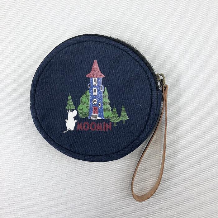(複製)YOSHI850|Moomin嚕嚕米正版授權:大零錢包【01墨綠】
