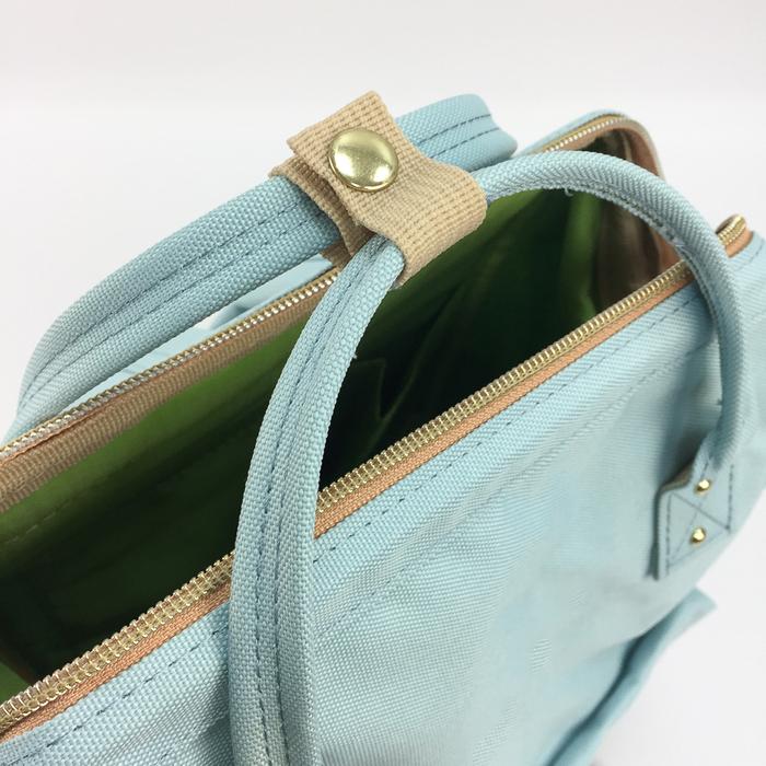 YOSHI850 小王子經典版授權:寬口後背包【湖水藍款】