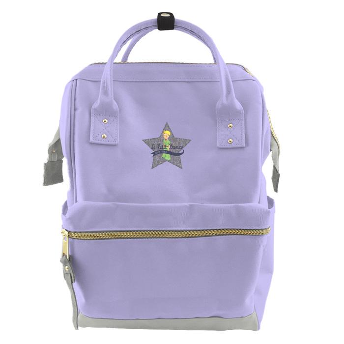 YOSHI850 小王子經典版授權:寬口後背包【磨砂紫款】