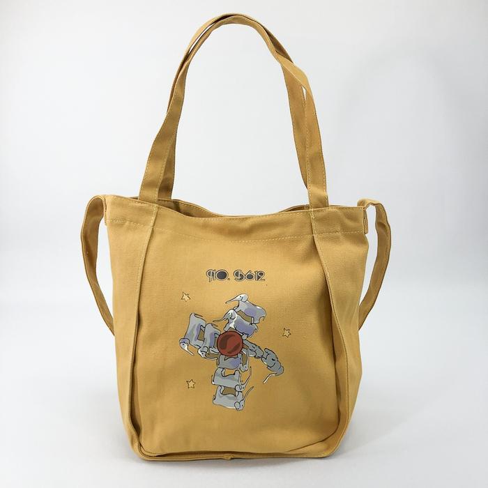 YOSHI850 小王子經典版授權:寬口手提肩背包【藍白紅】