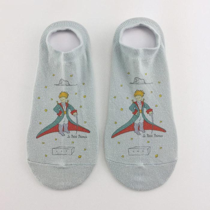 (複製)YOSHI850|小王子經典版授權 - 短襪系列:【白/粉紅/黃/橘/藍 色】
