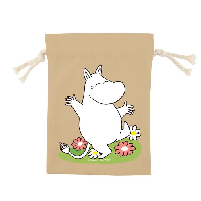 YOSHI850|嚕嚕米正版授權:彩色束口袋(小)【9款】