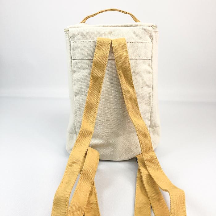 YOSHI850|小王子經典版授權:方筒拼色後背包【黃】(親子包-大款)
