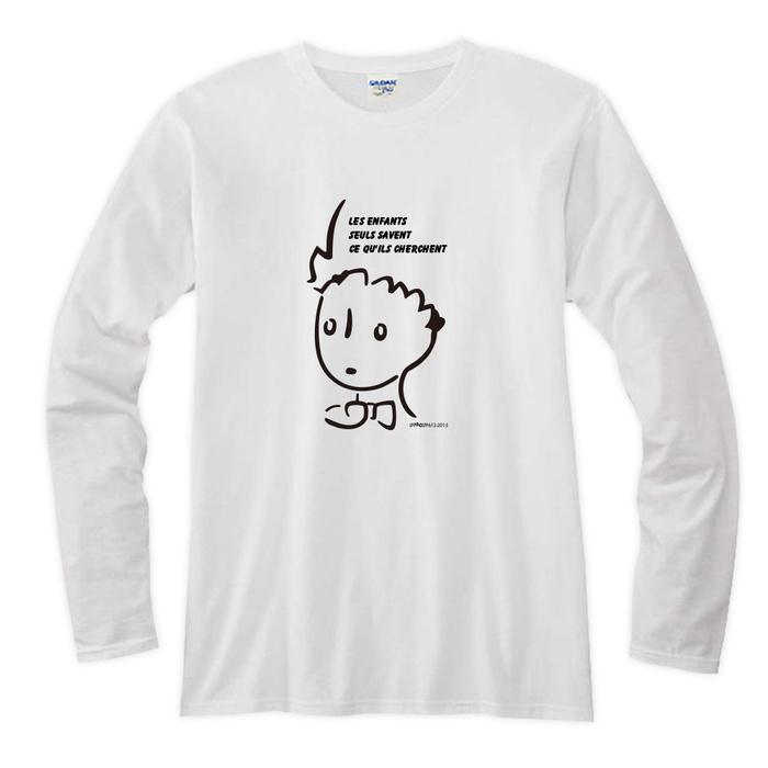 (複製)YOSHI850|小王子電影版授權【03 辛苦的燈夫】長袖T-shirt (修身/中性)7種顏色