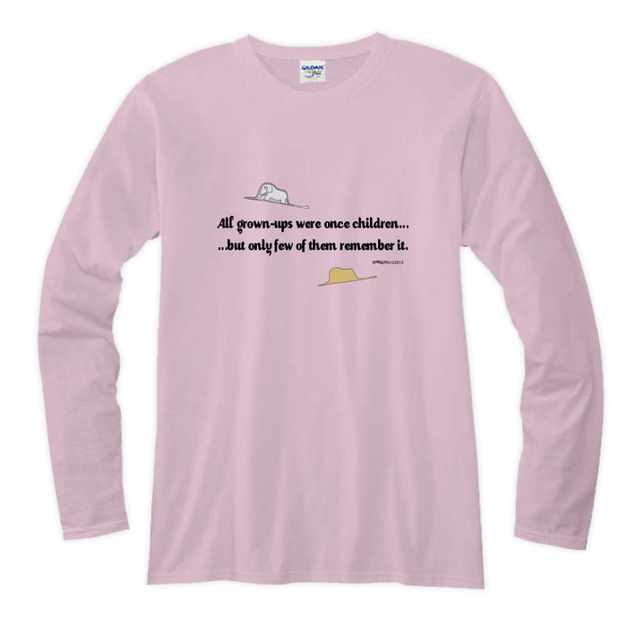 (複製)YOSHI850|小王子電影版授權【08 哭泣的小王子】長袖T-shirt (修身/中性)7種顏色
