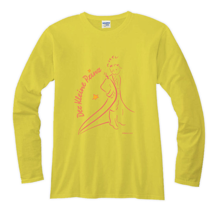 (複製)YOSHI850|小王子電影版授權【11帶我去旅行】長袖T-shirt (修身/中性)7種顏色