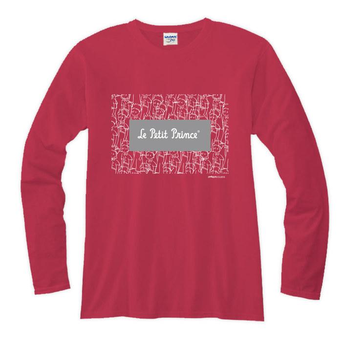 (複製)YOSHI850|小王子電影版授權【12 描繪小王】長袖T-shirt (修身/中性)7種顏色