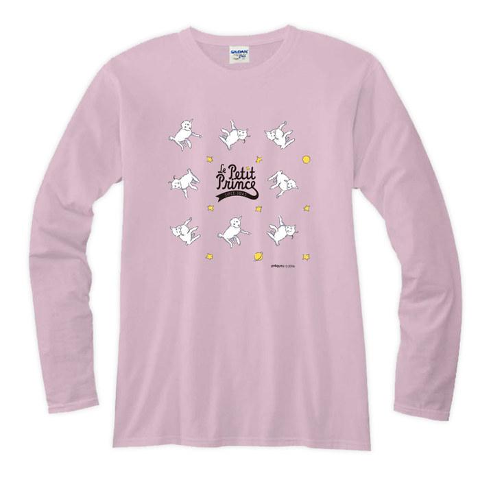 (複製)YOSHI850|小王子電影版授權【16 小王子LOGO】長袖T-shirt (修身/中性)7種顏色