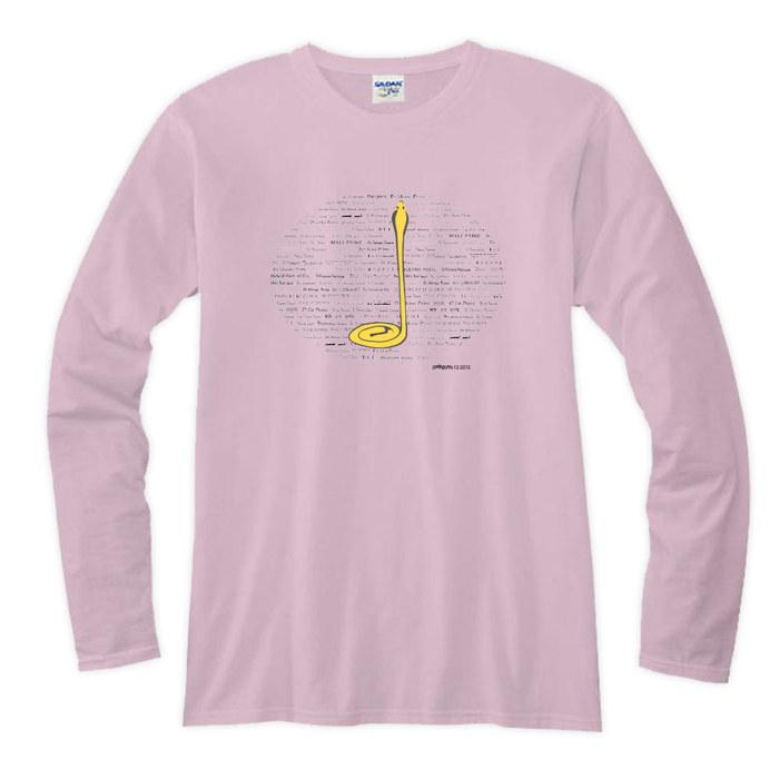 (複製)YOSHI850 小王子電影版授權【18 幫我畫隻羊】長袖T-shirt (修身/中性)7種顏色