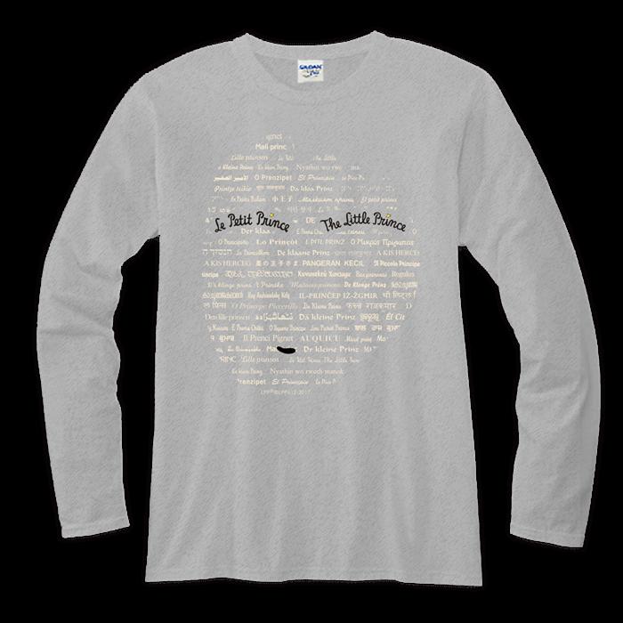 (複製)YOSHI850|小王子電影版授權【21 玻璃罩裡的玫瑰花】長袖T-shirt (修身/中性)7種顏色