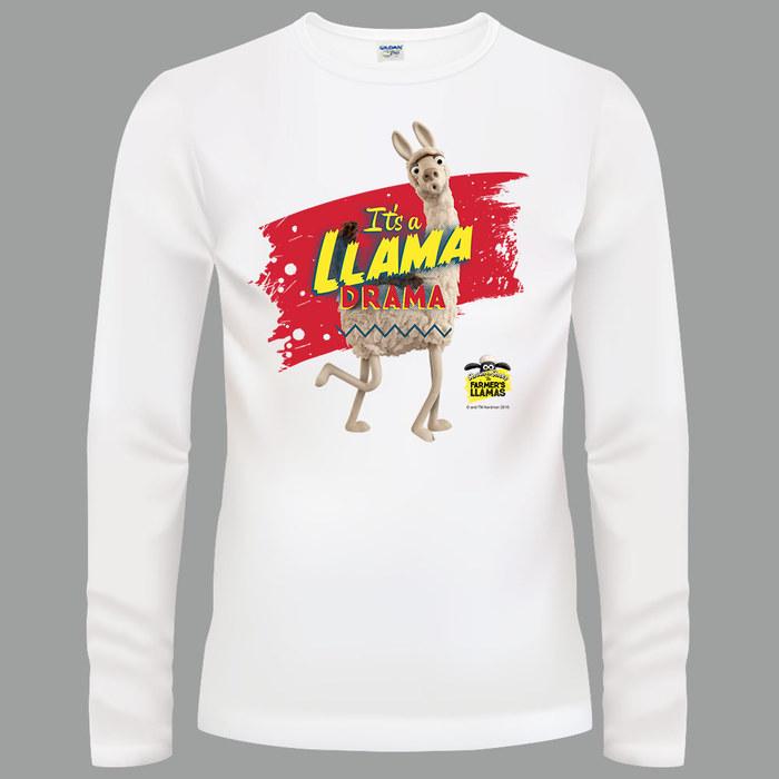 (複製)YOSHI850|笑笑羊正版授權【04 Timmy】長袖T-shirt (修身/中性)白色