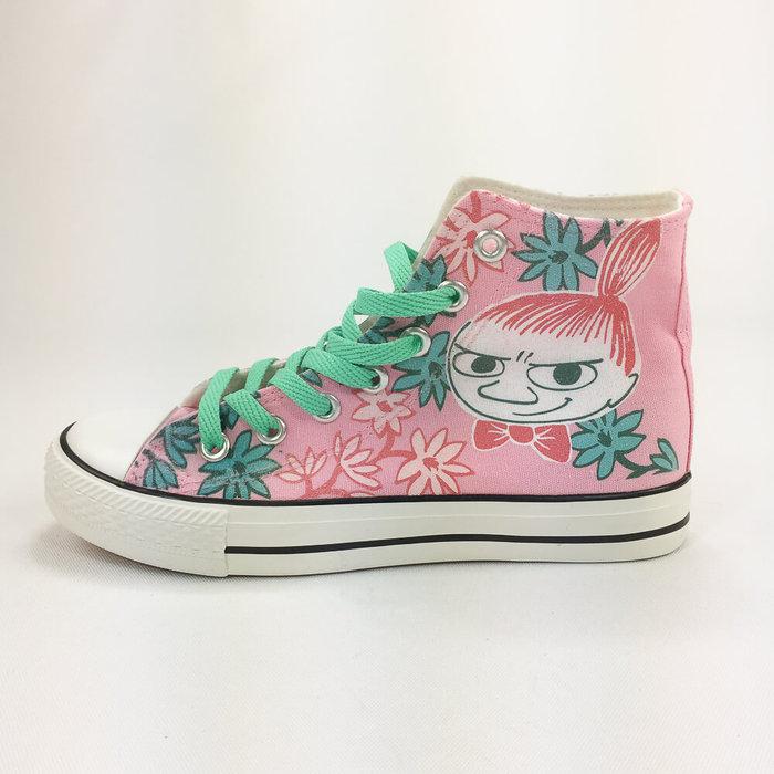 (複製)YOSHI850|Moomin嚕嚕米正版授權:帆布鞋【08橘鞋橘帶】