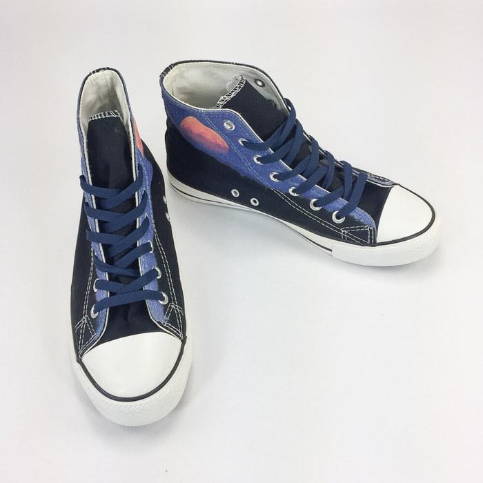 (複製)YOSHI850|新創設計師850 Collections:帆布鞋【13 黑鞋黑帶】