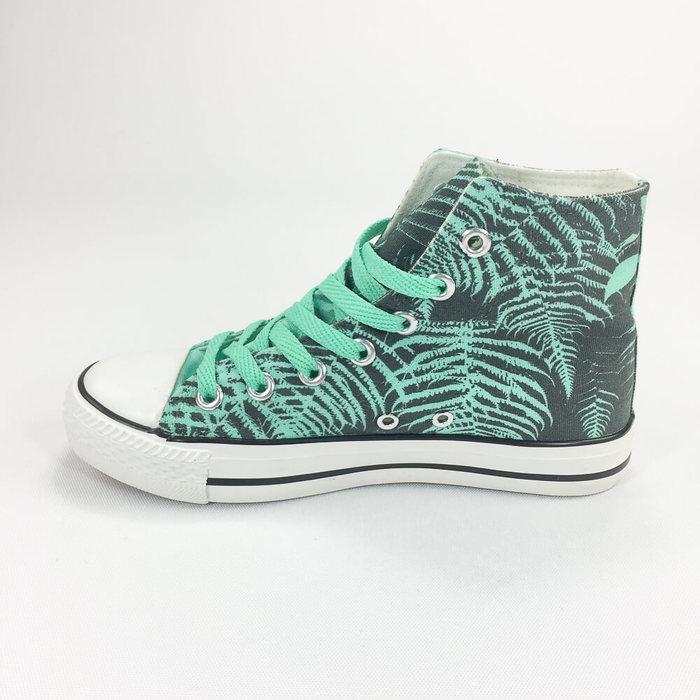 (複製)YOSHI850 新創設計師850 Collections:帆布鞋【14 黑鞋藏青帶】