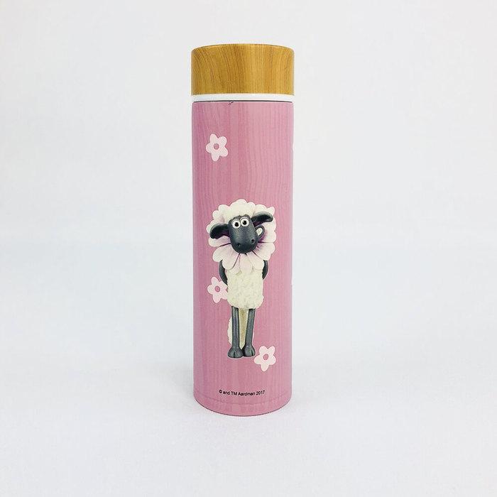 (複製)YOSHI850|Moomin嚕嚕米正版授權:木紋蓋保溫瓶(大-500ml)【01 粉紅】