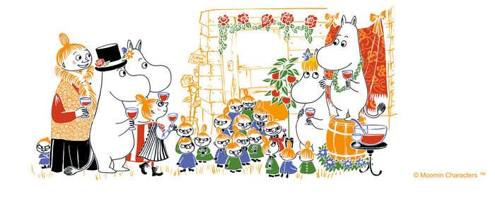 (複製)YOSHI850|Moomin嚕嚕米正版授權:亮彩迷你保溫瓶(180ml)【01 玫紅】