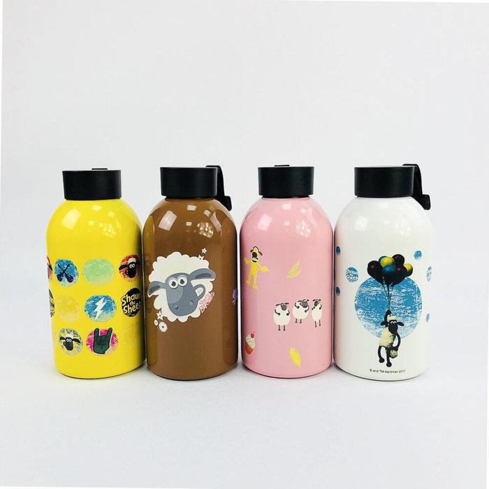 YOSHI850 笑笑羊正版授權:大容量不鏽鋼保溫瓶(650ml)【01 白】