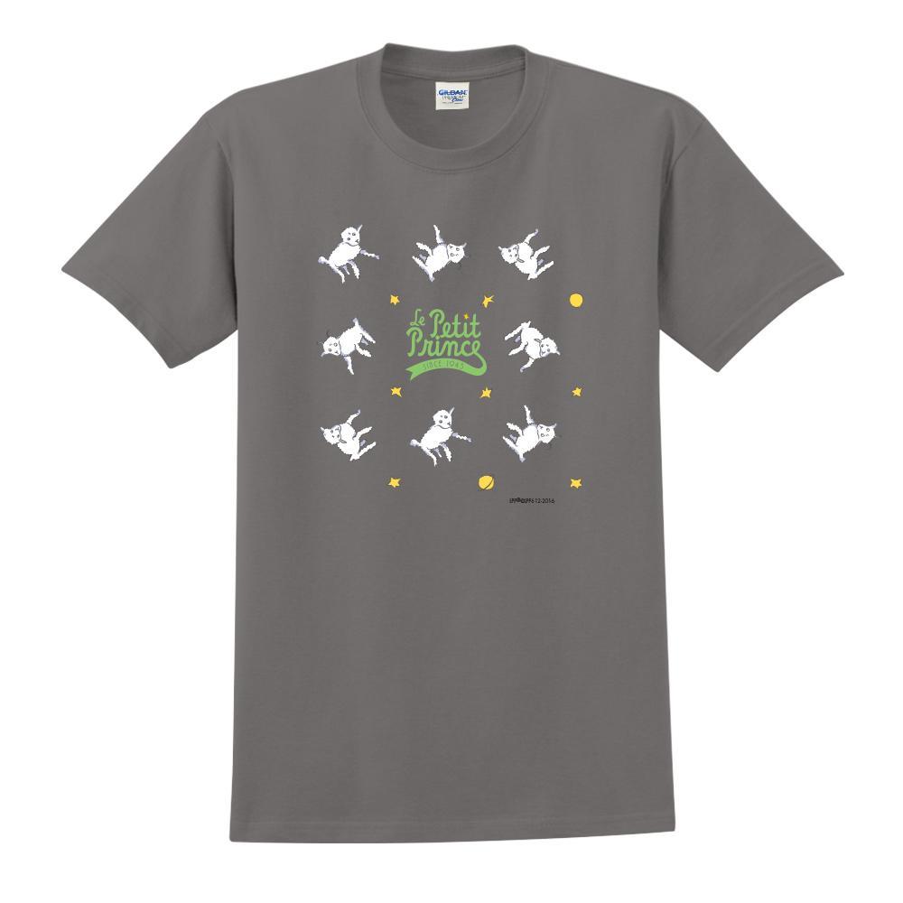 YOSHI850|小王子經典版授權【綿羊】短袖中性T-shirt (深灰)