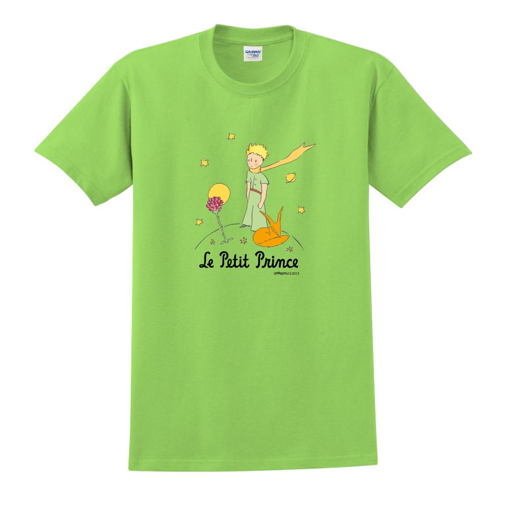 YOSHI850|小王子經典版授權【狐狸的秘密禮物】短袖中性T-shirt (果綠)