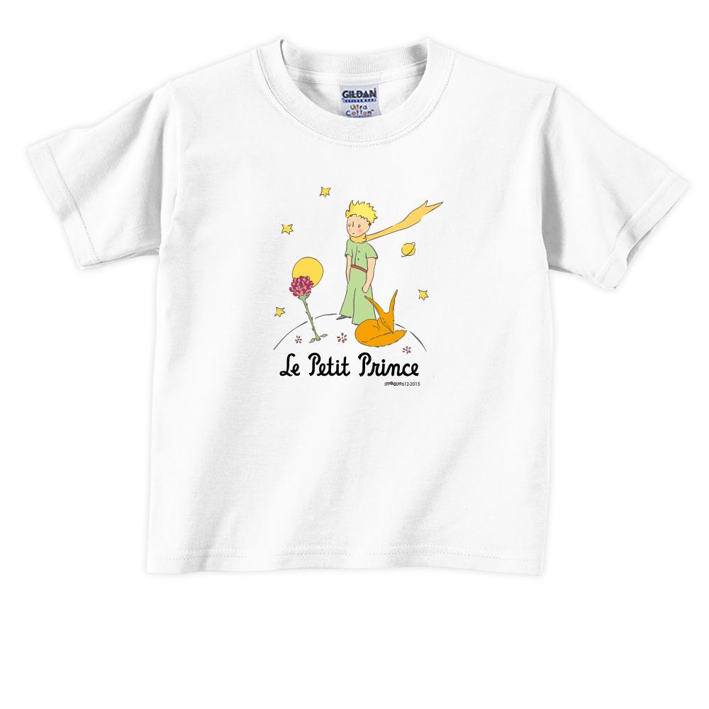 YOSHI850 小王子經典版授權【狐狸的秘密禮物】短袖兒童T-shirt 《3色》