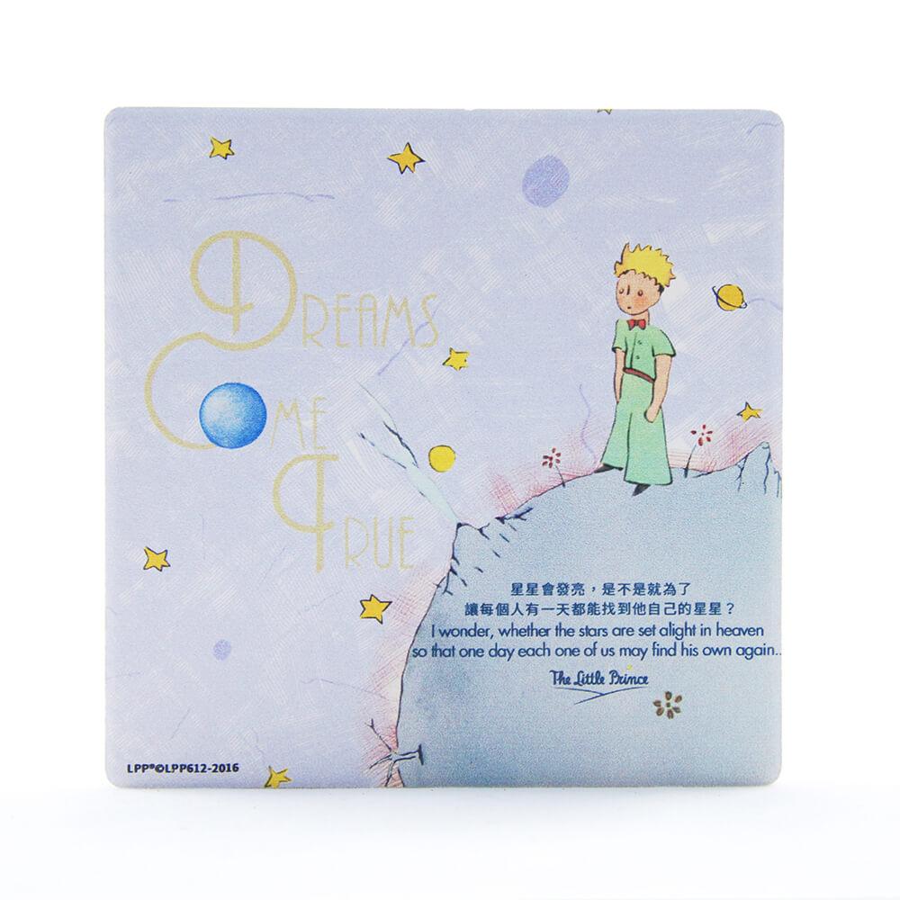 YOSHI850|經典小王子正版授權:吸水杯墊【Dreams Come True】(方.圓)