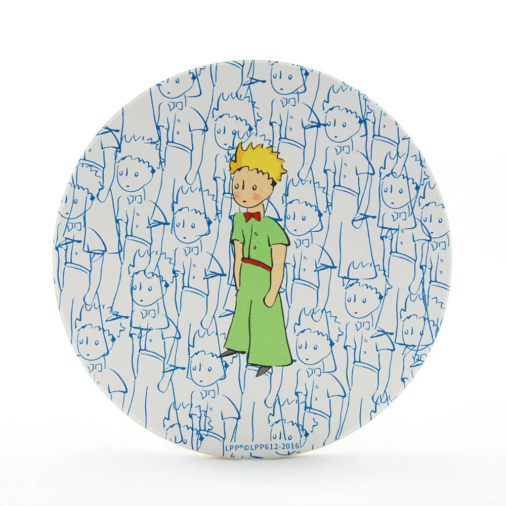 YOSHI850|經典小王子正版授權:吸水杯墊【傻傻的小王子】(方.圓)