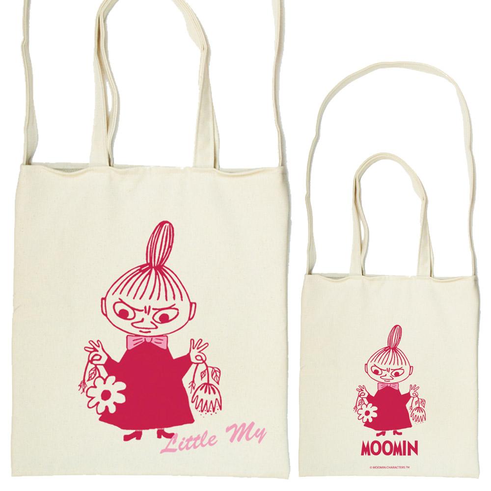 YOSHI850 Moomin嚕嚕米正版授權:斜背包【Little My】