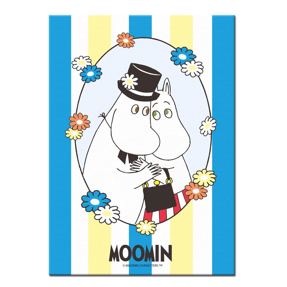 YOSHI850 Moomin嚕嚕米:無框畫【Moomin嚕嚕米,可兒】30×40cm