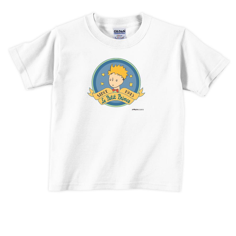 YOSHI850 小王子經典版授權【跟你說聲Hi】短袖兒童T-shirt《白色》