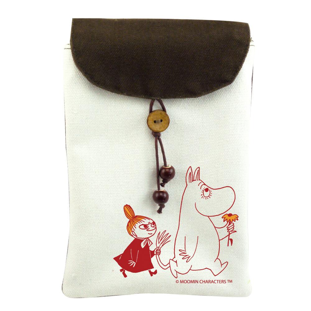 YOSHI850|嚕嚕米正版授權:手機袋【跟屁蟲】(肩背)