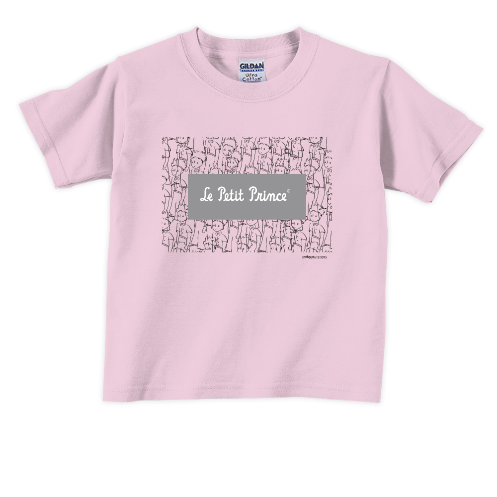 YOSHI850 小王子經典版授權【傻傻的小王子】短袖兒童T-shirt《2色》